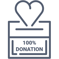 100 donation policy | Sponsor a child