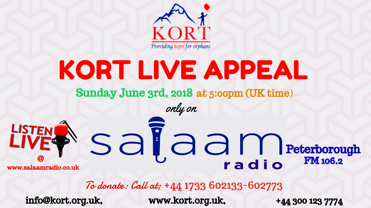 Kort Radio Appeal Salaam Radio In Peterborough Welcome To
