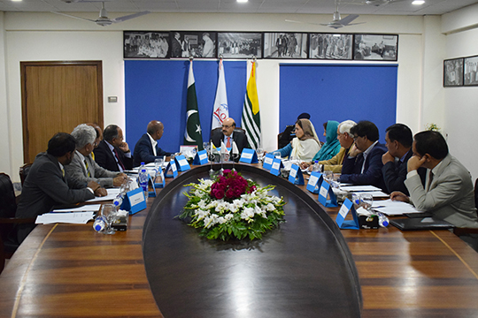PRESIDENT OF AJK HOSTS FIRST AGM OF THE GOVERNING BODY OF KORT