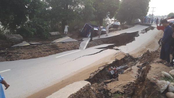 EARTHQUAKE STRIKES MIRPUR
