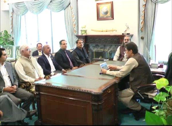 Meeting Imran Khan