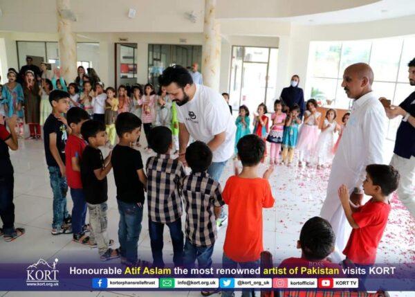 Atif Aslam Visits KORT