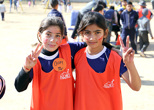 Sports day at KORT