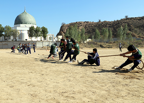 Sports day in KORT complex, sponsor towards an orphan