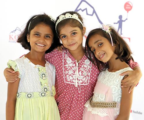 Sustainability of KORT - Children smiling