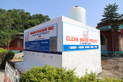 Outside Building Water Filtration Plant