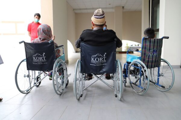 Wheelchair Distributions in Sept 2020