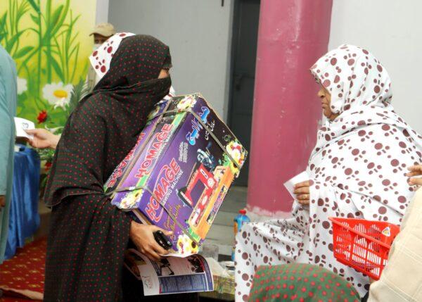 Women empowerment - Sewing machine distribution